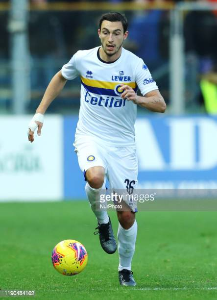 Matteo Darmian of Parma during the football Serie A match Parma v Brescia at the Tardini Stadium in Parma Italy on December 22 2019