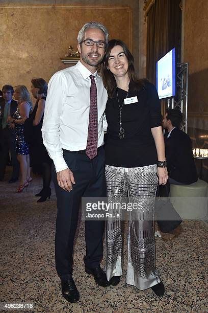 Matteo de Brabant and Silvia Valigi attend the Charity Dancing Party For Haiti hosted by Fondazione Francesca Rava NPH Italia Onlus to support the...