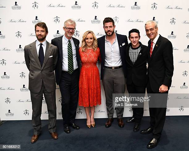 Matteo Del Vecchio Brooks Brothers Claudio Del Vecchio Chairman and CEO Brooks Brothers Nastia Liukin Jesse Palmer Robin Taylor and and Rick Shadyac...