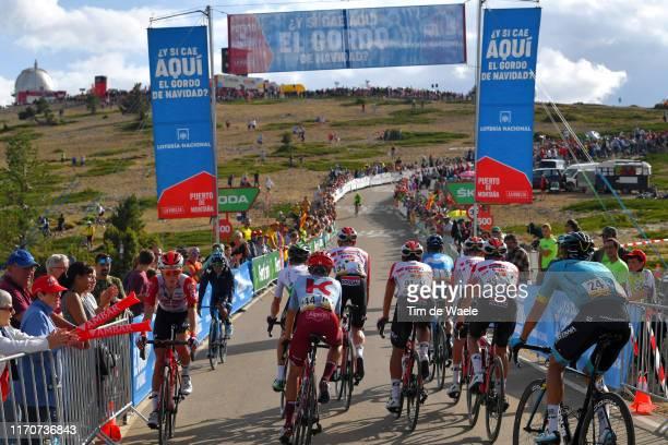 Matteo Fabbro of Italy and Team Katusha-Alpecin / Tomasz Marczynski of Poland and Team Lotto Soudal / Thomas De Gendt of Belgium and Team Lotto...
