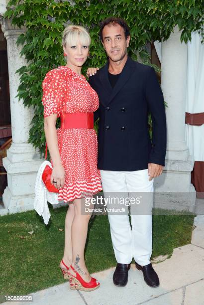 Matteo Garrone and Nunzia Garrone attend The 69th Venice International Film Festival at Excelsior Hotel on August 28 2012 in Venice Italy