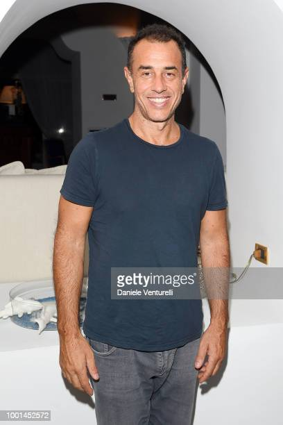 Matteo Garrone attends 2018 Ischia Global Film Music Fest on July 18 2018 in Ischia Italy