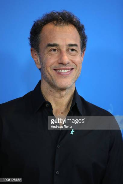 Matteo Garrone poses at the Pinocchio photo call during the 70th Berlinale International Film Festival Berlin at Grand Hyatt Hotel on February 23...