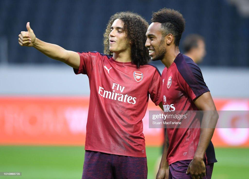 Arsenal v SS Lazio - Pre-Season Friendly : News Photo