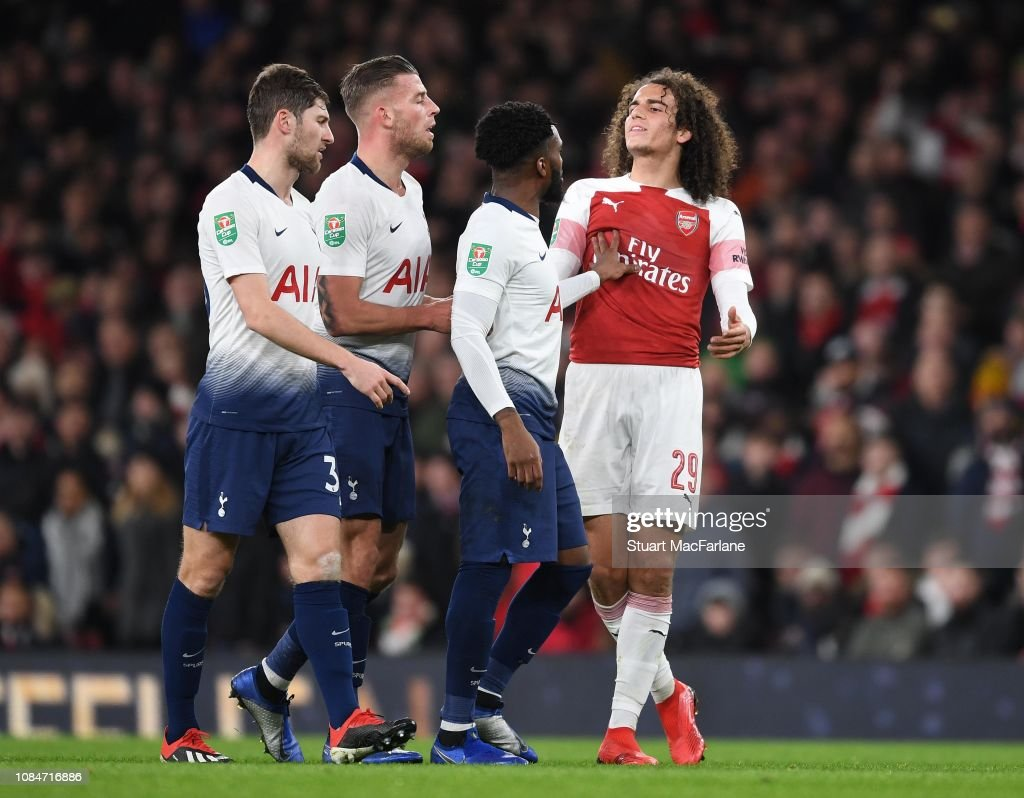 Arsenal v Tottenham Hotspur - Carabao Cup: Quarter Final : News Photo