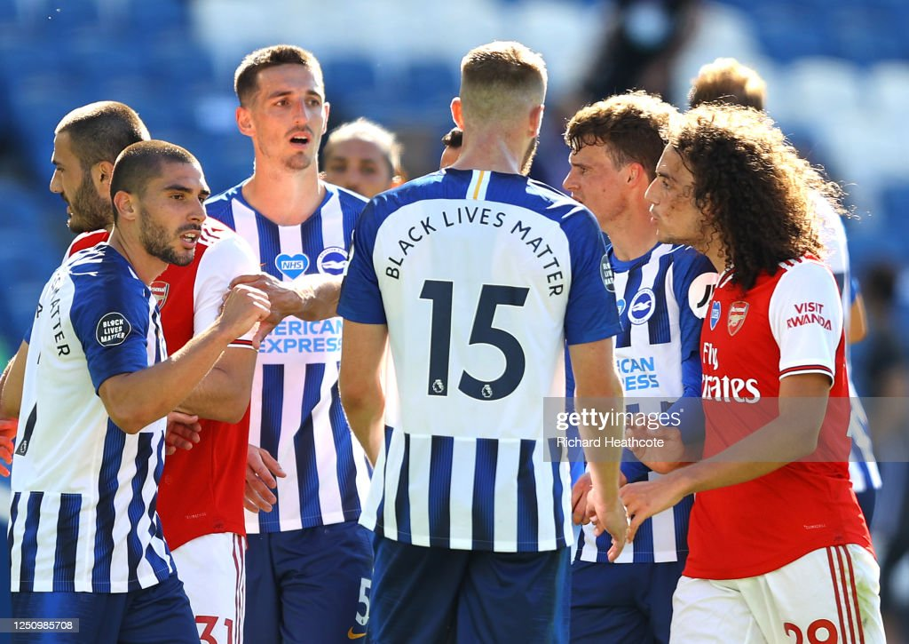 Brighton & Hove Albion v Arsenal FC - Premier League : News Photo
