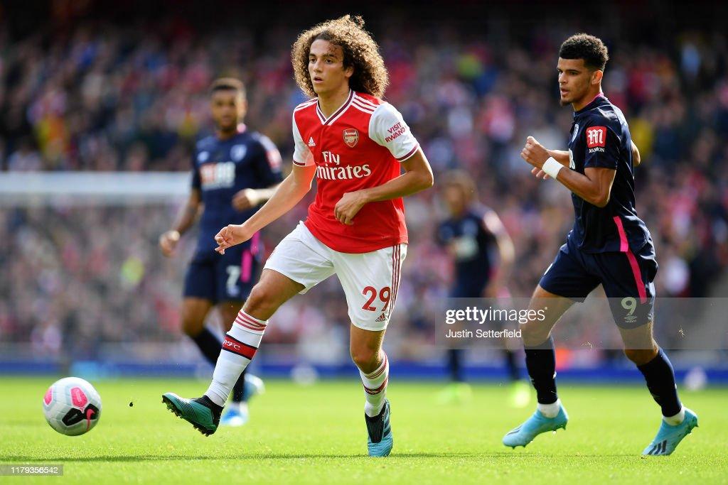 Arsenal FC v AFC Bournemouth  - Premier League : Foto jornalística