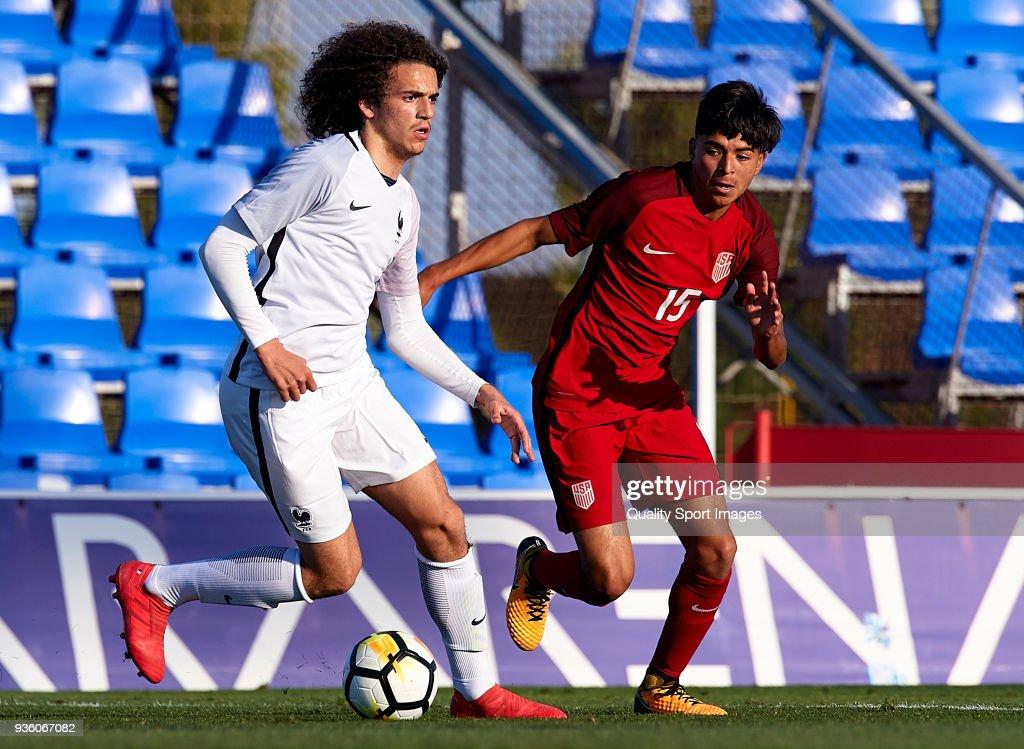 France U20 v USA U20 - International Friendly
