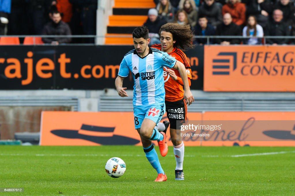 FC Lorient v Olympique de Marseille - Ligue 1