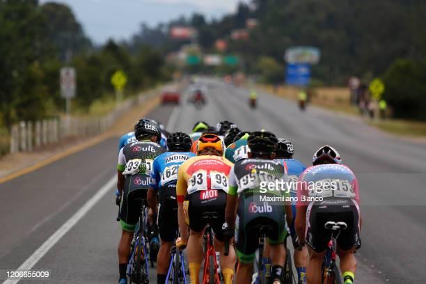 Matteo Jorgenson of The United States and Team Movistar / Alvaro Jose Hodeg Chagui of Colombia and Team Deceuninck Quick Step / Johan Antonio Colon...