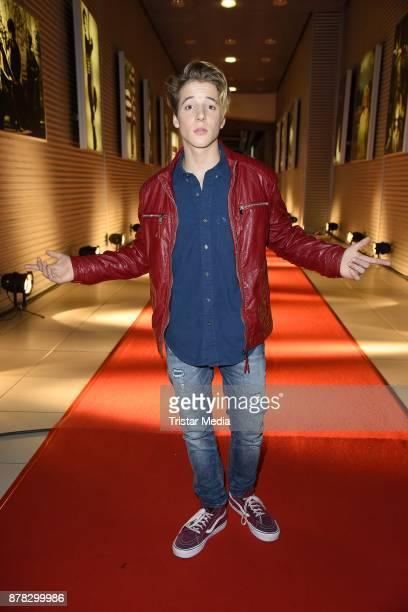 Matteo Markus Bok attends the RTL Telethon 2017 on November 24 2017 in Huerth Germany