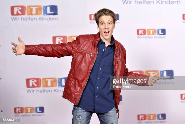 Matteo Markus Bok attends the RTL Telethon 2017 on November 24 2017 in Huerth Germany