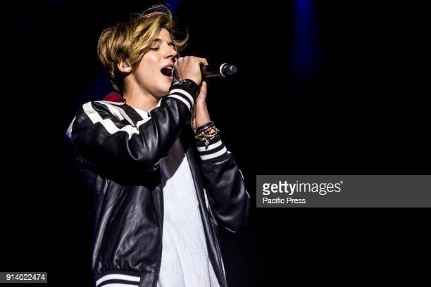 Matteo Markus Bok live at Mediolanum Forum in Milano as supporter of Soy Luna Live Bok has been competitor for The Voice Kids Germany 2016 and...