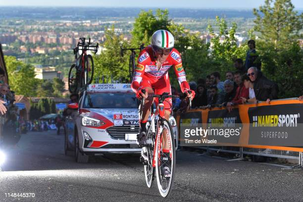 Matteo Montaguti of Italy and Team Androni Giocattoli Sidermec / during the 102nd Giro d'Italia 2019 Stage 1 a 8km Individual Time Trial from Bologna...
