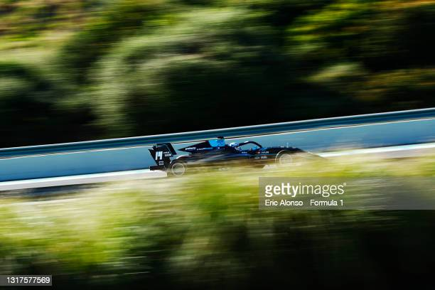 Matteo Nannini of Italy and HWA Racelab drives at Circuito de Jerez on May 12, 2021 in Jerez de la Frontera, Spain.