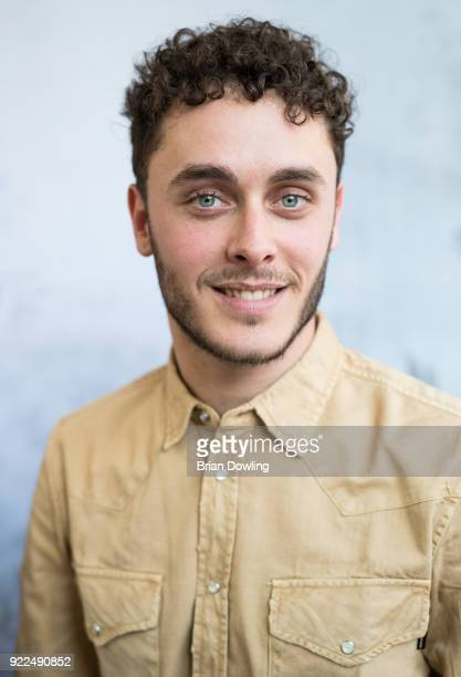 Matteo Olivetti poses during the 'Boys Cry' portrait session during the 68th Berlinale International Film Festival Berlin at Regent Hotel on February...