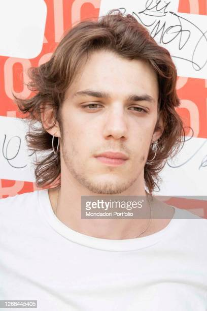 Matteo Oscar Giuggioli one of the protagonists of the Netflix film Under the sun of Riccione surprise guests on the stage of Deejay On Stage for the...