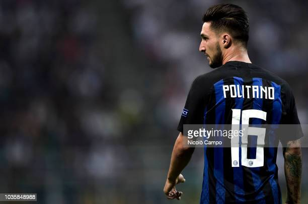 Matteo Politano of FC Internazionale looks on during the UEFA Champions League football match between FC Internazionale and Tottenham Hotspur FC...