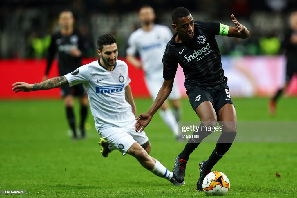 Eintracht Frankfurt v FC Internazionale - UEFA Europa League Round of 16: First Leg : News Photo
