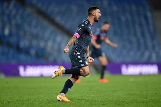 ESP: Real Sociedad v SSC Napoli: Group F - UEFA Europa League