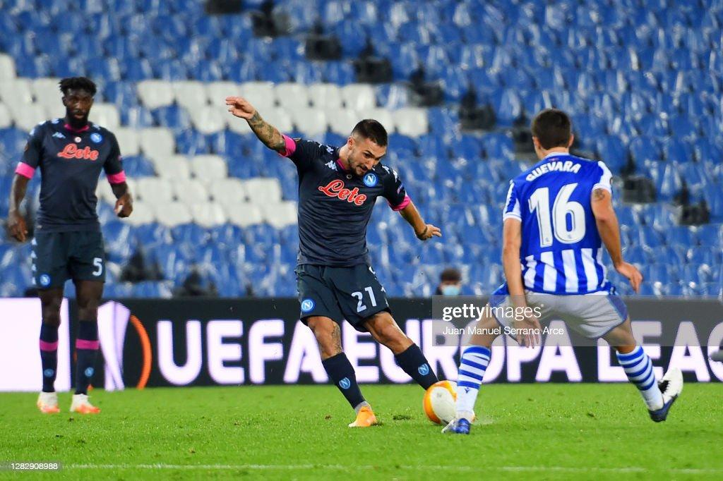 Real Sociedad v SSC Napoli: Group F - UEFA Europa League : News Photo