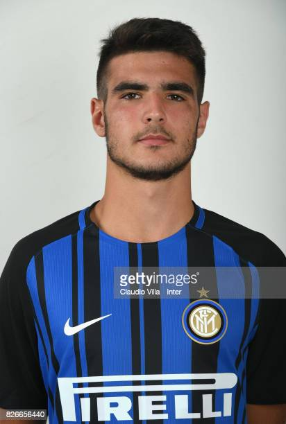 Matteo Rover of FC Internazionale poses on July 7 2017 in Reischach near Bruneck Italy