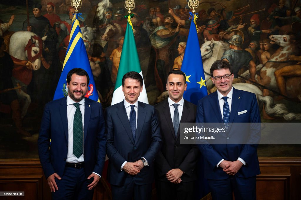 Oath ceremony Of The New Italian Government