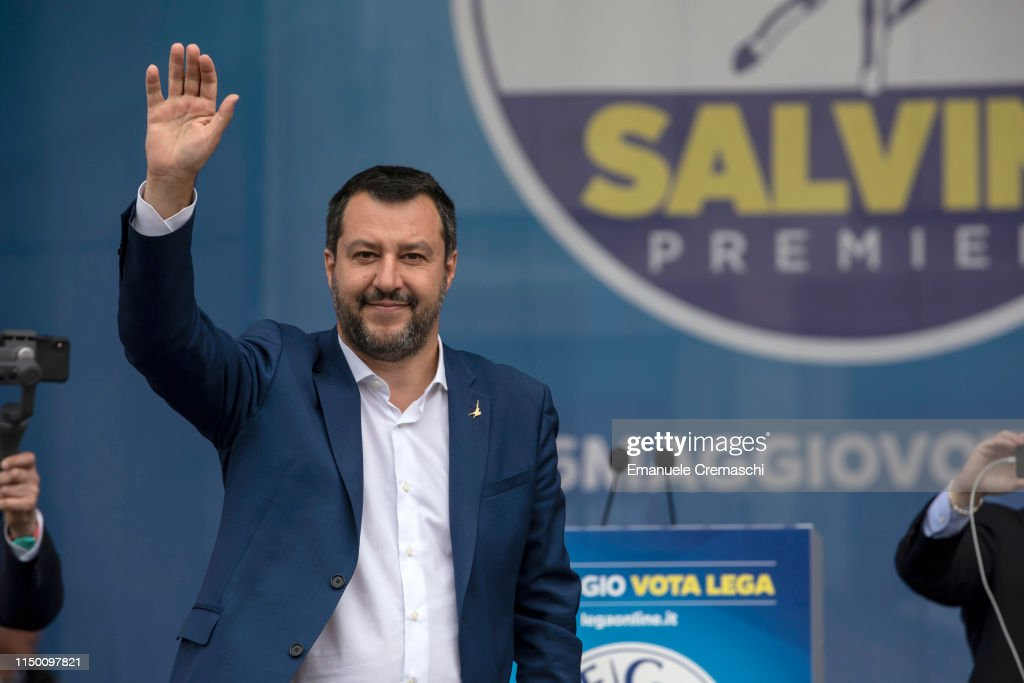 ITA: Right-Wing EU Parties Rally In Milan