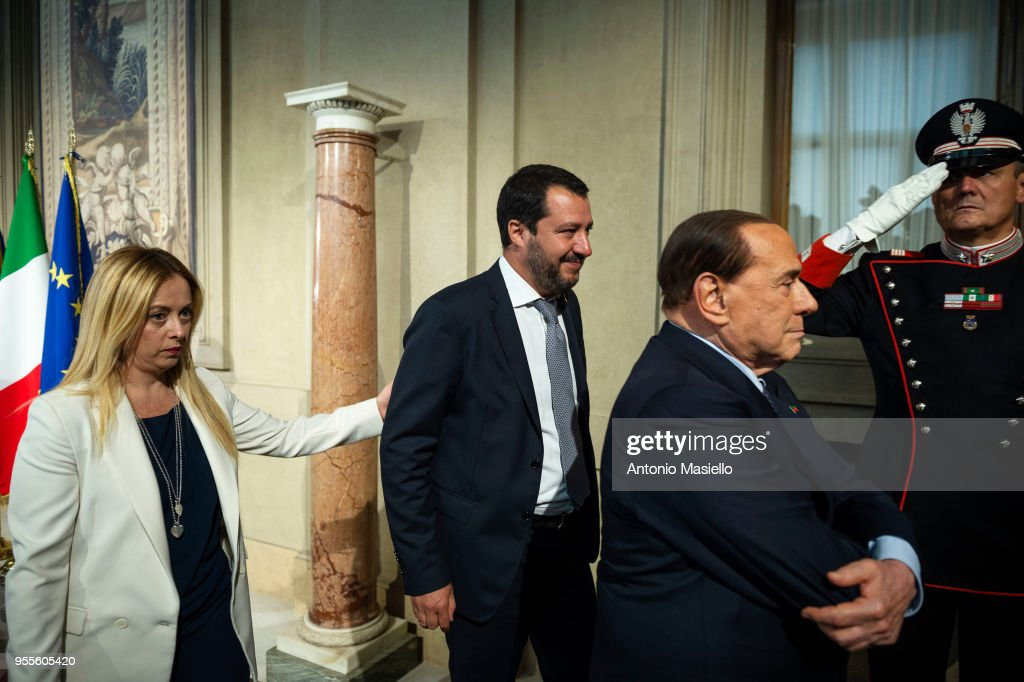 Negotiations Continue As Italy Struggles To Form A Government : News Photo