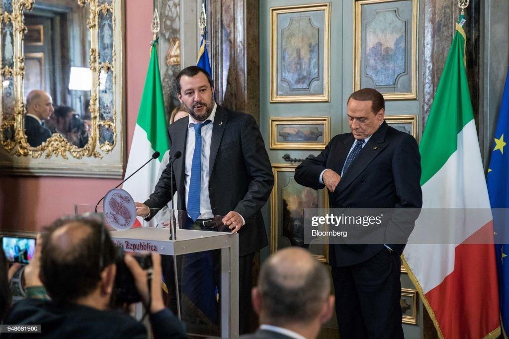 Speaker Of The Senate Elisabetta Casellati Continues Consultations To Form The Next Government