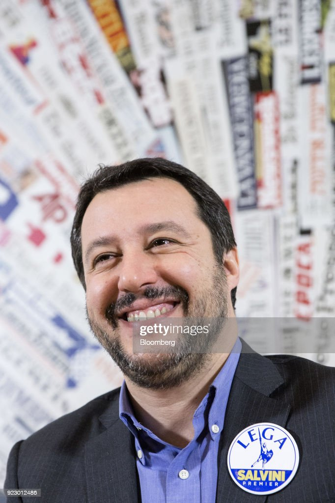 The League Leader Matteo Salvini Speaks At The Foreign Press Club