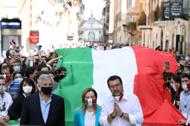 ITA: Italy's Opposition Demonstrate Against Government's Handling Of Post-Covid Economic Reboot