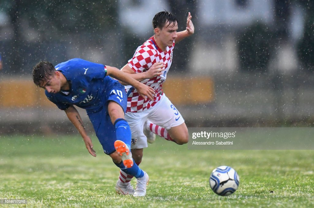 Italy U19 v Croatia U19 - International Friendly