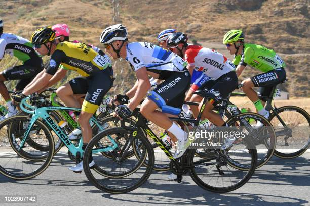 Matteo Trentin of Italy and Team Mitchelton-Scott / during the 73rd Tour of Spain 2018, Stage 2 a 163,5km stage from Marbella to Caminito Del Rey -...