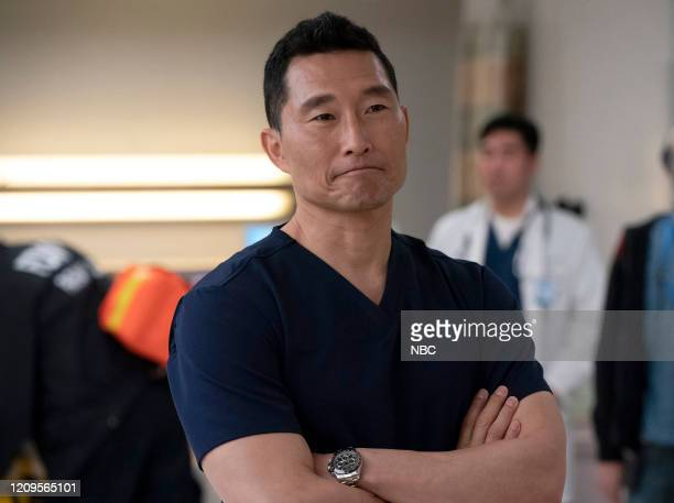 NEW AMSTERDAM Matter Of Seconds Episode 219 Pictured Daniel Dae Kim as Dr Cassian Shin