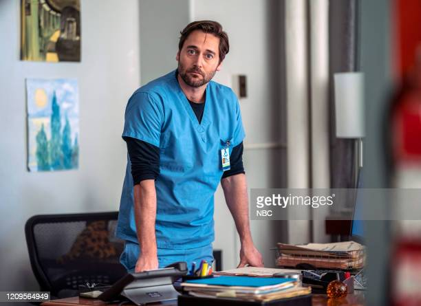 NEW AMSTERDAM Matter of Seconds Episode 219 Pictured Ryan Eggold as Dr Max Goodwin