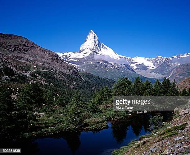 Matterhorn and Grindjisee Lake