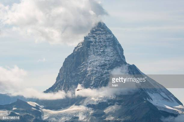 Matterhorn from atop Gornergrat, Switzerland, Europe