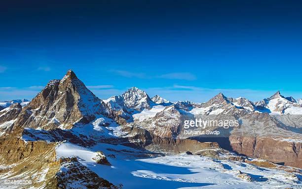 Matterhorn in a blue sky