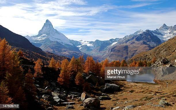 Matterhorn in autumn