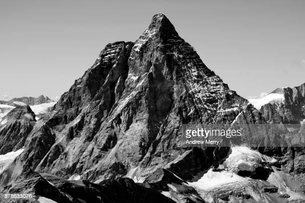 Matterhorn in black and white.
