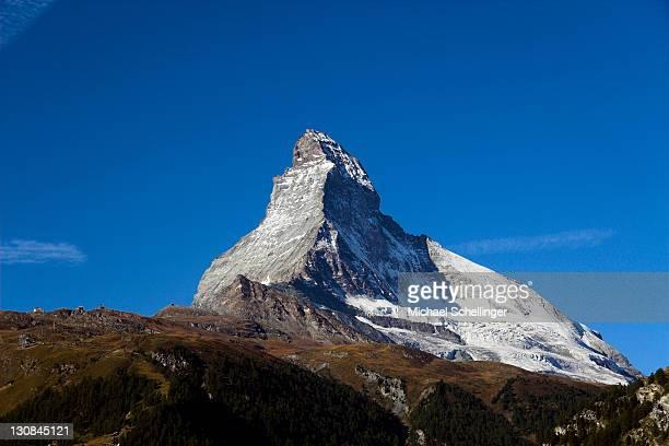 Matterhorn in morning light, Zermatt, Canton Valais, Switzerland
