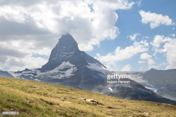 Matterhorn in the summer time, Switzerland