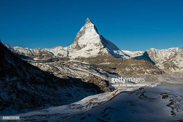 matterhorn mountain - pinnacle peak stock pictures, royalty-free photos & images