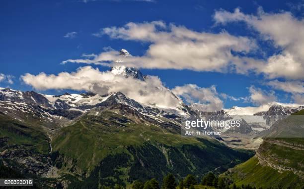 matterhorn mountain, zermatt, switzerland - achim thomae stock-fotos und bilder