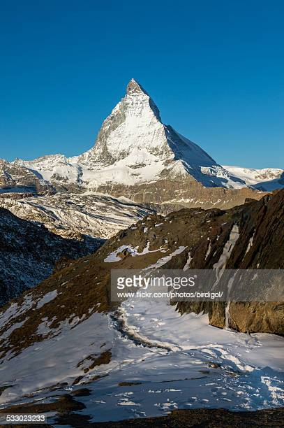 matterhorn moutain - pinnacle peak stock pictures, royalty-free photos & images