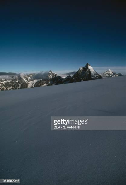 Matterhorn Pennine Alps Aosta Valley Italy