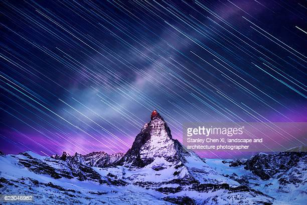 Matterhorn Starry Night Sequence