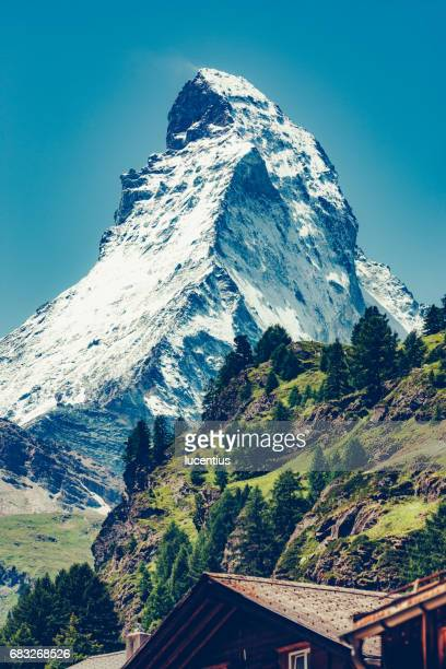 Matterhorn, Switzerland, in summer