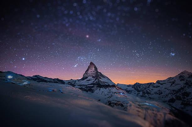 Matterhorn W/miniature Effect Wall Art